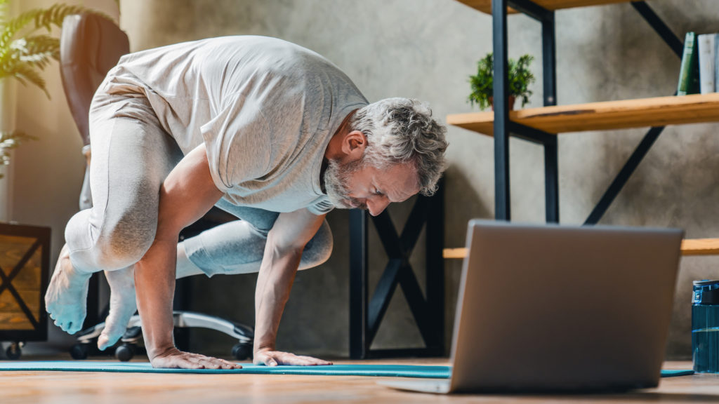 Yoga and Virtual Personal Training Sessions with David Todd Fitness