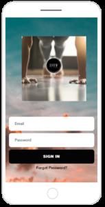 Online Personal Training Smart Phone App